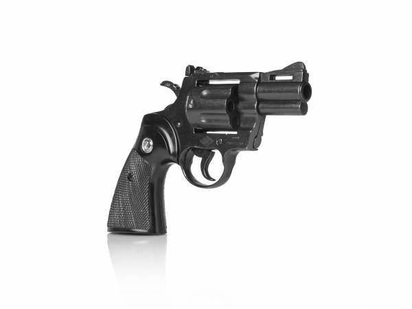 Colt Python Deko Revolver .357 Magnum mit 2,5 Zoll Lauf