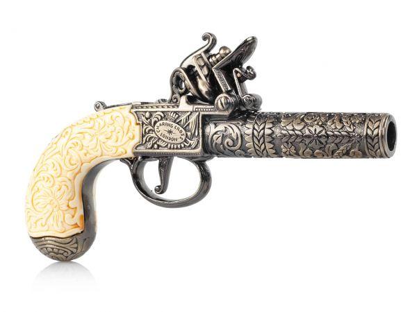 Knubley & Brunn Taschenpistole Deko Pistole - London 1795