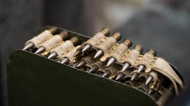 Dekomunition Dekopatronen in einer Munitionskiste