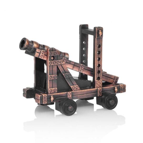 Mittelalter Kanone mit Bleistiftspitzer als Modellkanone