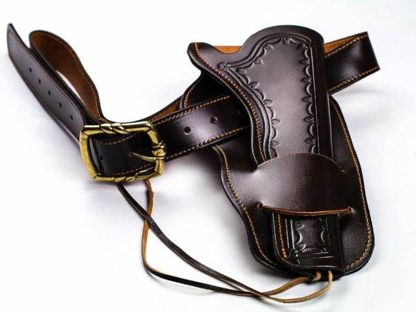 Cowboy Gürtel mit Holster - Westernholster