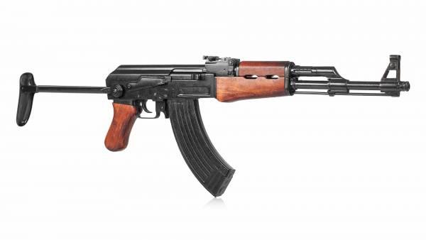 Kalaschnikow AK 47 AKMS Deko Dekowaffe Sturmgewehr