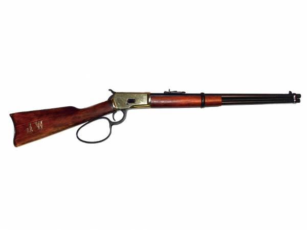 Winchester John Wayne - Deko Gewehr für echte Helden - schwarz-messingfarben