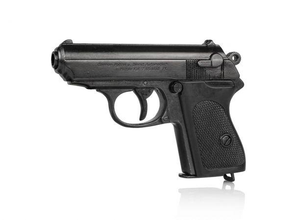 Walther PPK Deko Pistole Polizeipistole - Kaliber 7,65 Browning