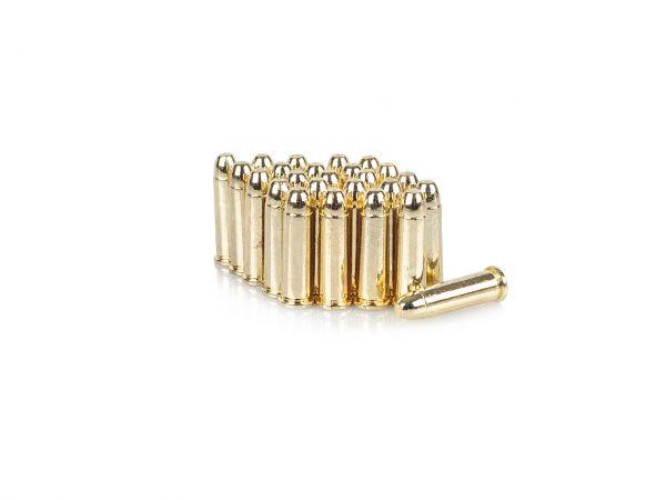 25 Stück Deko Patronen für 45er Colt Peacemaker und Winchester Gewehre