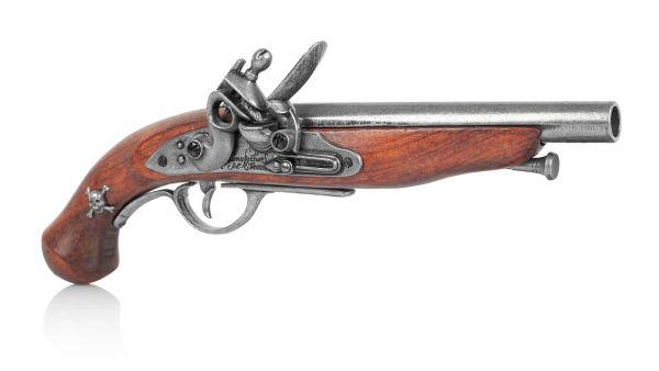 Französische Piratenpistole Deko - Amerika 1780