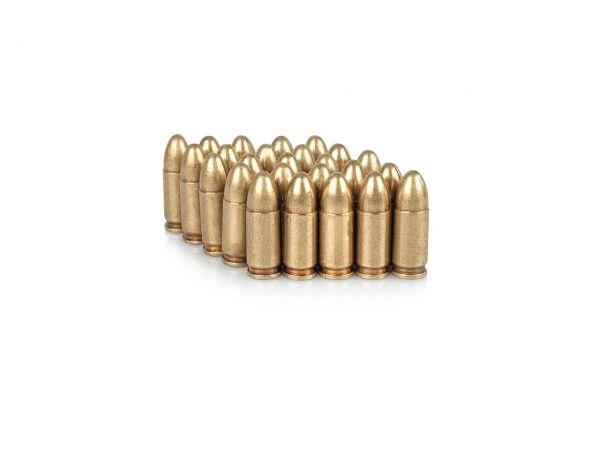 9mm Para Deko Munition 25 Stück Parabellum Dekopatronen
