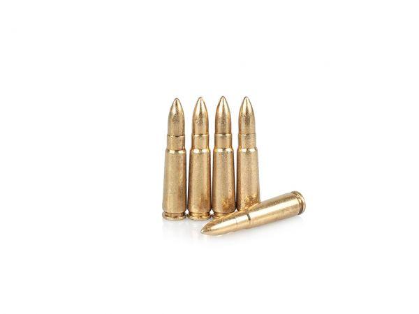Kalaschnikow AK 47 Deko Munition 5 Stück Dekopatronen