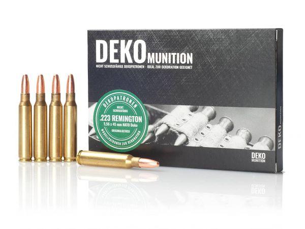 5 Stück Deko Patronen NATO Munition 5,56 x 54 mm .223 Remington