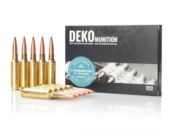 10 Stück Deko Patronen 6,5 mm Creedmoor Munition