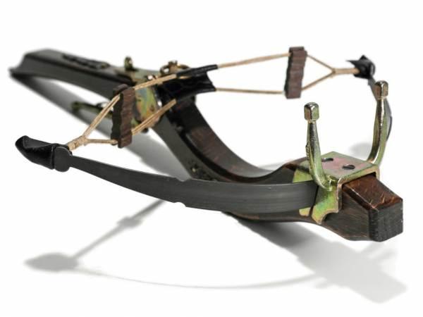 Mittelalter Steinschleuder aus Holz - Länge 40 cm