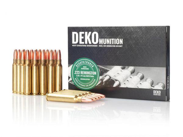 25 Stück Deko Patronen NATO Munition 5,56 x 54 mm .223 Remington