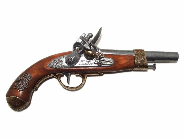 AN XIII - Deko Pistole Napoleon - Frankreich 1806