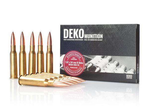 10 Stück Deko Patronen Mosin 1908/30 Munition 7,62 x 54 mm R