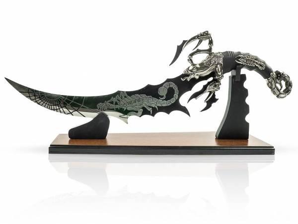 Fantasy Dolch - Skorpiondolch mit Display