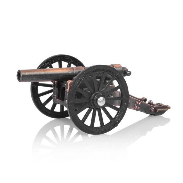Bürgerkriegskanone mit Bleistiftspitzer als Modellkanone