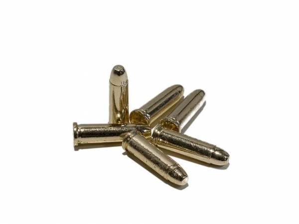 6 Deko Patronen für 45 Colt Peacemaker und Winchester Modell 1866