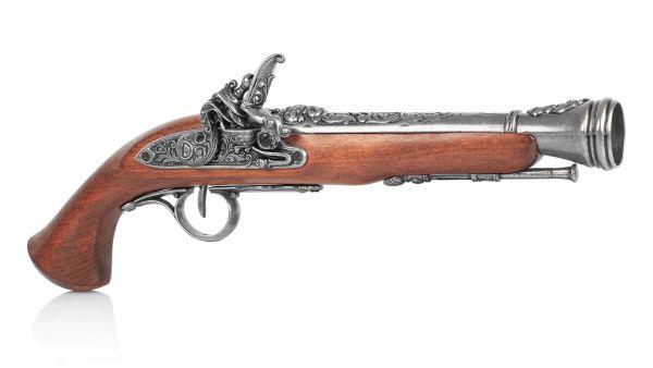 Deutsche Steinschlosspistole Deko Espingole Preußen um 1800