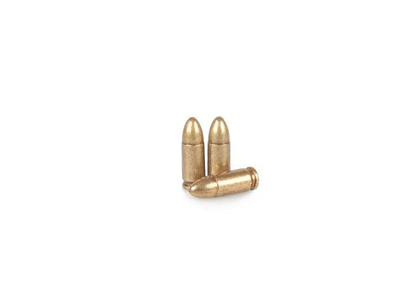 9mm Para Deko Munition 3 Stück Parabellum Dekopatronen