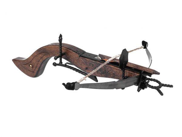 Mittelalter Armbrust aus Holz und Metall