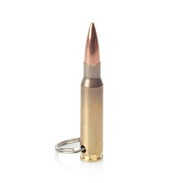 Patronen Schlüsselanhänger .308 7,62x51 mm NATO mit Schlüsselring