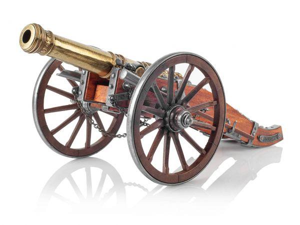 24 Pfünder Ludwig XIV Deko Kanone als Modellkanone
