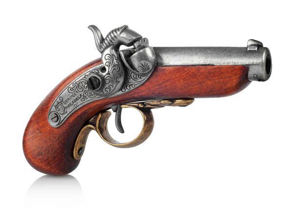 Philadelphia Derringer Deko Pistole