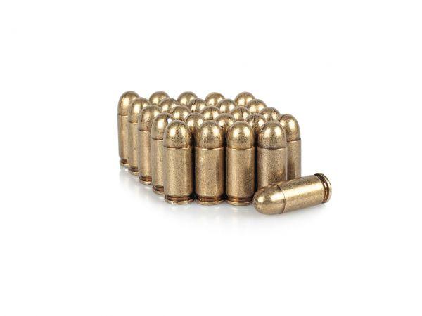 25 Stück Dekopatrone .45 ACP Deko Munition