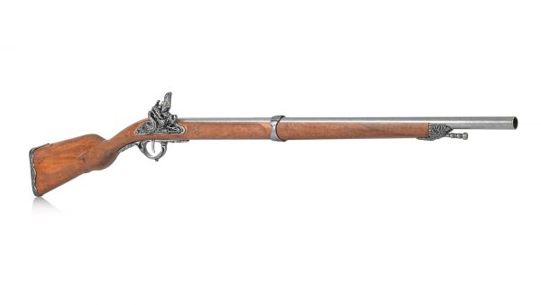 Deko Steinschlossgewehr Muskete für Offiziere