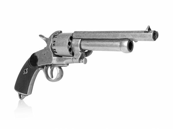 LeMat Revolver Deko Waffe - Perkussionsrevolver im used Look