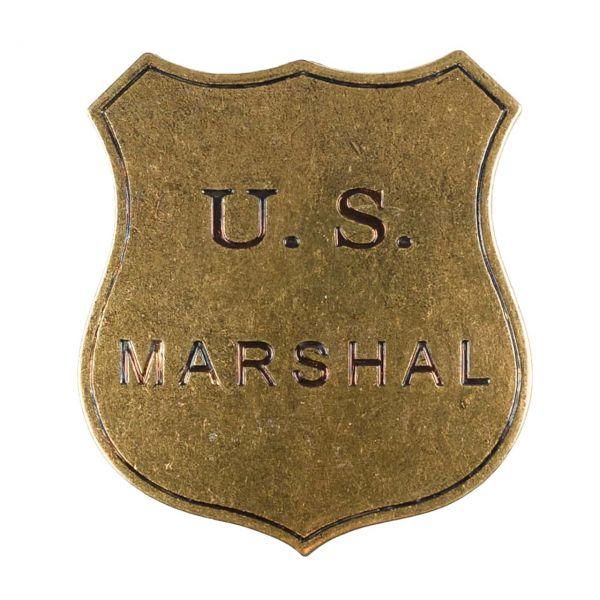 US Marshal Abzeichen Dienstmarke mit Sicherheitsverschluss