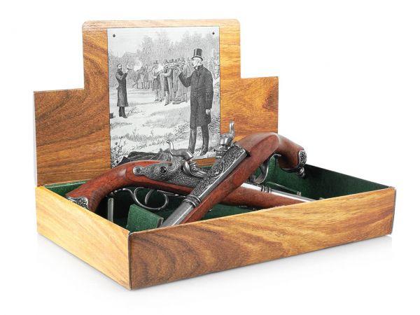 Duellpistolen Set Deko Italien 1825