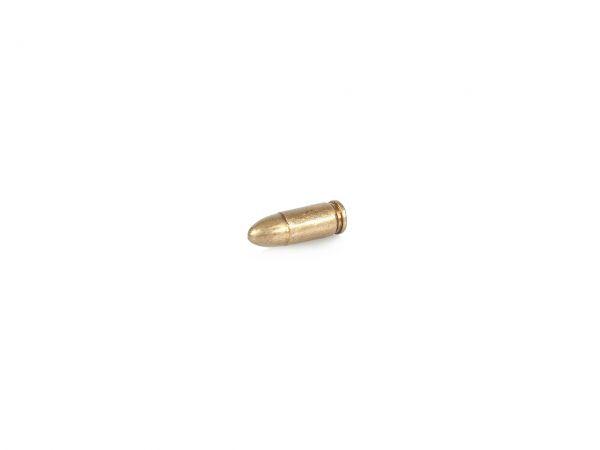 9mm Patrone als Deko Munition