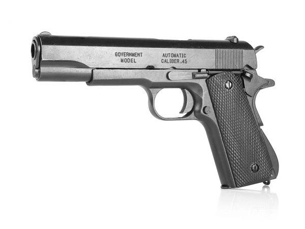Colt 1911 Deko Pistole M1911A1 .45 in schwarz