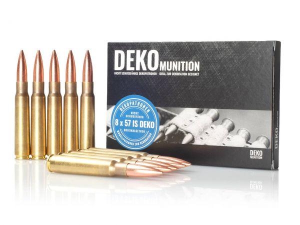 10 Stück Deko Patronen K98 Munition 8 x 57 IS