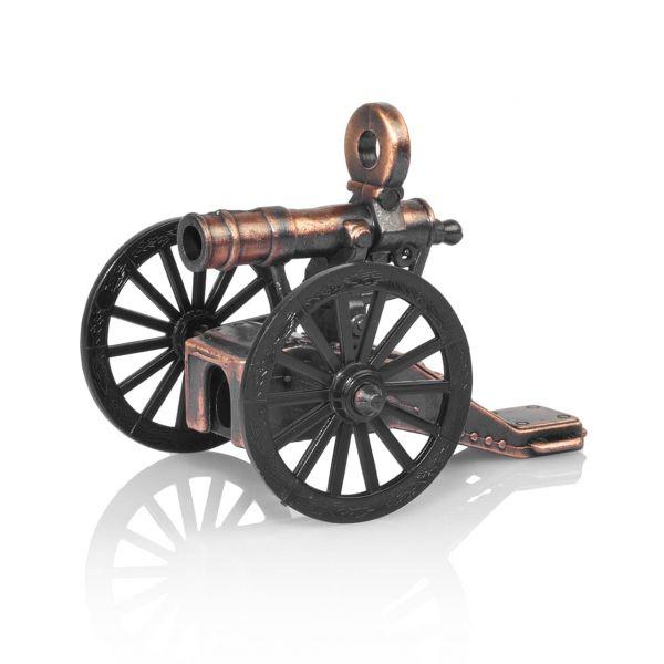 Gatling Kanone mit Bleistiftspitzer als Modellkanone