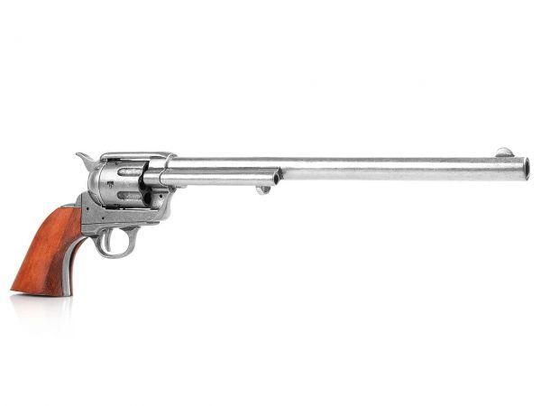 Deko Colt Buntline Special - Peacemaker Revolver SAA 1873 - used Look