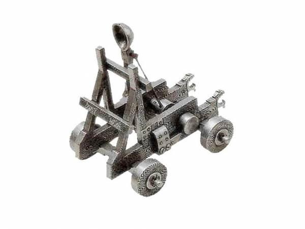 Mittelalter Katapult - Deko Modell im Detail