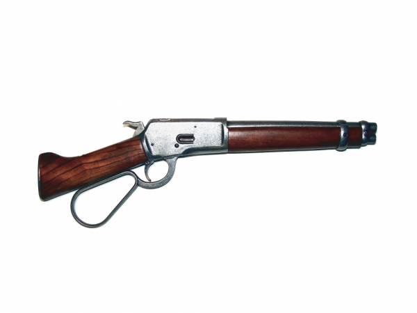 Winchester Mares Leg - Deko Gewehr - Model 1892 - silberfarben