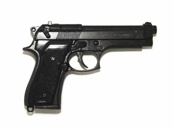 Beretta 92 F Deko Pistole - M9 US Armee in schwarz
