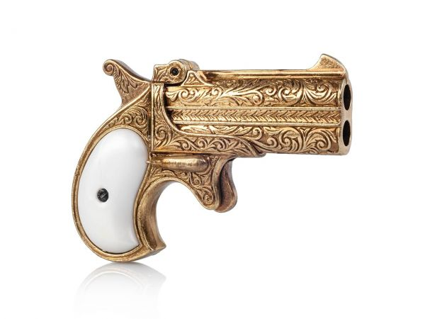 Remington 95 Doppel Derringer Deko Pistole