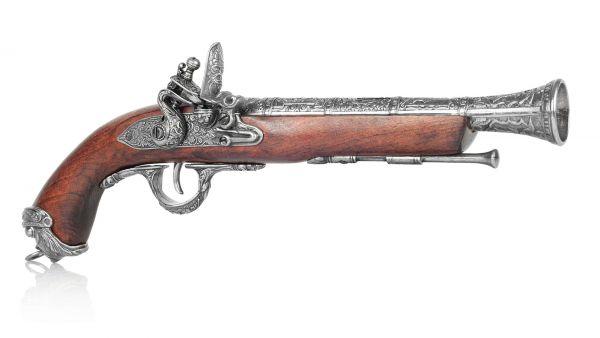 Piratenpistole Deko Karibik um 1700, England